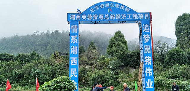 喜迎十九大,湘西芙蓉资源总部经济工程项目开工奠基