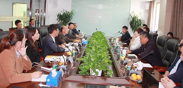湘村高科股份公司与北京澳门新濠天地真人全面战略合作座谈会成功举行