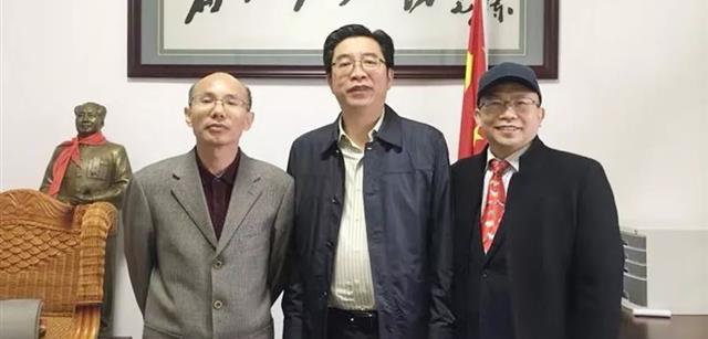 北京资源雷火app官网下载集团董事长刘钧贻拜会衡阳市市长邓群策
